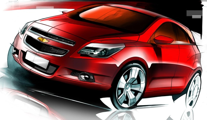 Chevrolet Agile Sketch 2009 02 copy